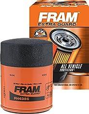 FRAM Extra Guard PH4386, 10K Mile Change Interval Spin-On Oil Filter