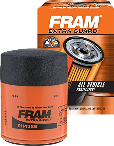 FRAM PH4386 Extra Guard Passenger Car Spin-On Oil - Filter Titan Oil