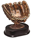 Decade Awards Baseball Glove Ball Holder Trophy | Bronze Game Ball Holder Award | 5 Inch - Customize Now