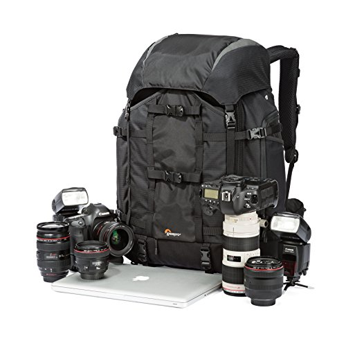 Pro Trekker 450 AW Camera Backpack From Lowepro - Large Capacity Backpacking Bag For All Your Gear by Lowepro