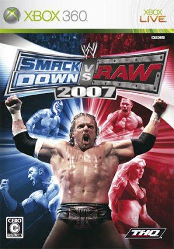WWE SmackDown! vs. RAW 2007 [Japan Import] (Wwe Raw Xbox)