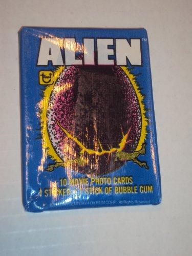 Alien Gum Card Packs Unopened Pack # 1 ()