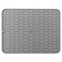 OXO 1410880 Good Grips Large Silicone Drying Mat,Gray