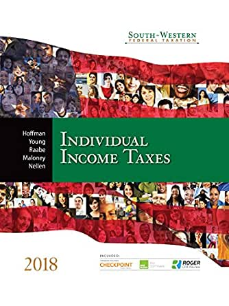 Amazon south western federal taxation 2018 individual income south western federal taxation 2018 individual income taxes 41st edition kindle edition fandeluxe Image collections
