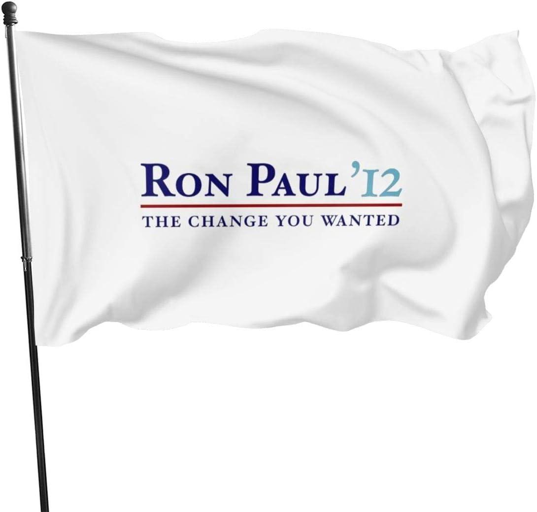 N/D Ron Paul 2012 - Pancarta de bandera de Ron Paul 2012 ...