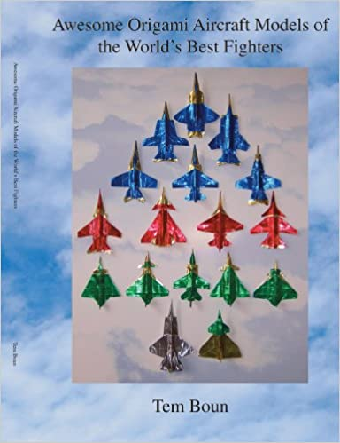 Book Awesome Origami Aircraft Models of the World's Best Fighters