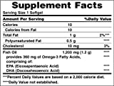 Image of Nature's Bounty Fish Oil 1200 mg, 320 Softgels