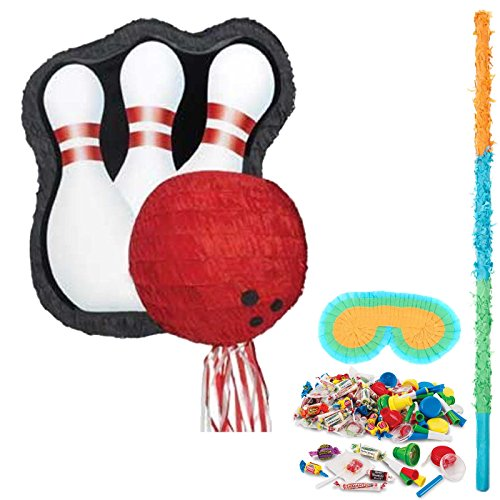 BirthdayExpress Bowling Party Supplies Pinata Kit