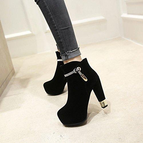 Shoes Scarpa Alto Chic A Tacco Con Nero Mee Piattaforma Donna ad5qAwa