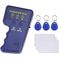 Hdliang 125 kHz handheld RFID-kopieerapparaat EM kaartlezer schrijver duplicator programma + 6 stuks EM4305 / T5577…