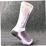 Sci-Termica-Warm-Socks-Sport-Invernali-Lungo-Professionale-Anti-odore-Per-Outdoor-Di-Fondo-Corsa-Ciclismo-Donne-Viola