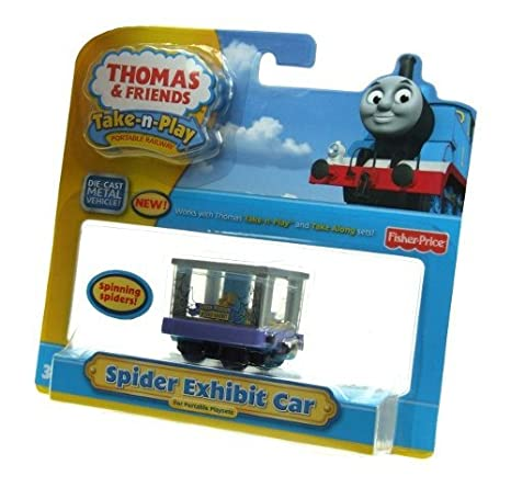 Thomas & Friends - Die-Cast Metal Spider Exhibit Car