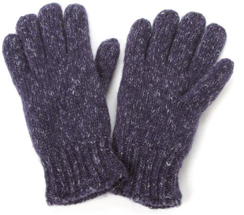 - Echo Design Men's Marled Knit Glove with Fleece Lining, Deep Blue Heather, One Size