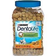 Purina DentaLife Tasty Chicken Flavor Adult Cat Dental Treats - (1) 13.5 oz. Canister