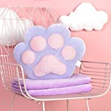 HOMEE the Cushion Lovely Creative Cartoon Blankets Girls Winter Plush Duvet Pillow with Two Three-In-One Warm Hand Over-,3832Cm, Blue,Purple