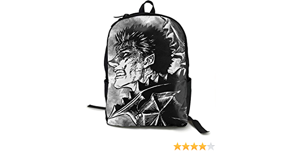 Ssxvjaioervrf Berserk Bloody Guts Anime Travel Laptop Backpack Male and Female College Computer Bag Laptop Gift Business Ultra-Thin and Durable Laptop Backpack