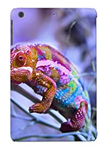 New Animal Chameleon Tpu Case Cover, Anti-scratch YiogCT-4604-rxnvF Phone Case For Ipad Mini/mini 2 With Design