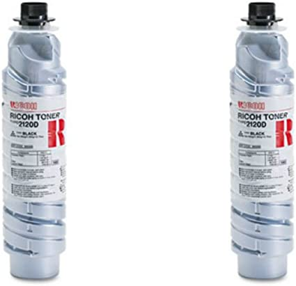 Black, 2-Pack LD Compatible Toner Cartridge Replacement for Ricoh 885288 Type 2120D High Yield