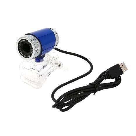 Monllack Azul + Plata de 360 Grados Ajuste USB 2.0 DE Alta definición de