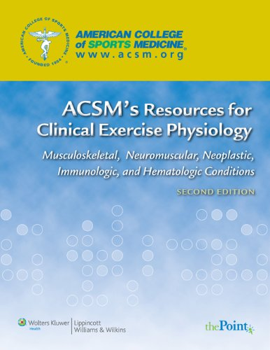 Musculoskeletal Conditions - ACSM's Resources for Clinical Exercise Physiology: Musculoskeletal, Neuromuscular, Neoplastic, Immunologic and Hematologic Conditions (ACSMs Resources for the Clinical Exercise Physiology)