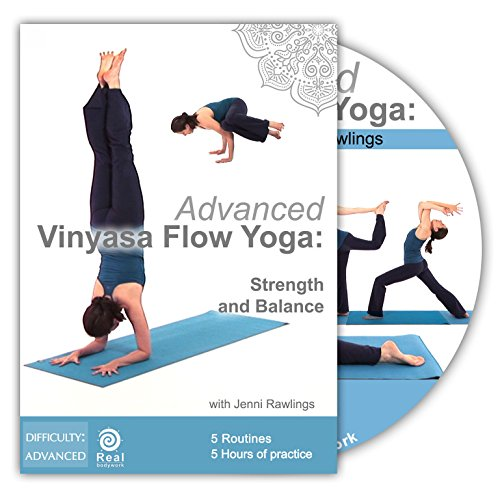 Strong & Advanced Vinyasa Flow Yoga with Jenni Rawlings - 2 DVD Set