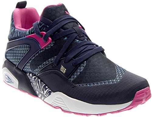 PUMA Blaze of Glory Woven Peacoat / Blue Heaven-pink Glow sRu6X