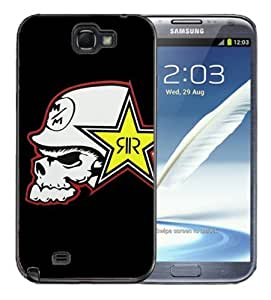 Iphone 5/5S Black Rubber Silicone Case - Rock Star Metal Mulisha Skull FMX