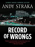 Record of Wrongs (Five Star First Edition Mystery)