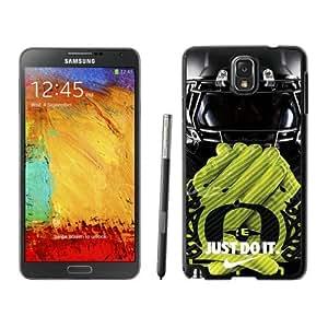 NCAA Pacific-12 Conference Pac-12 Football Oregon Ducks 11 Black Fashion Customize Design Samsung Galaxy Note 3 N900A N900V N900P N900T Phone Case