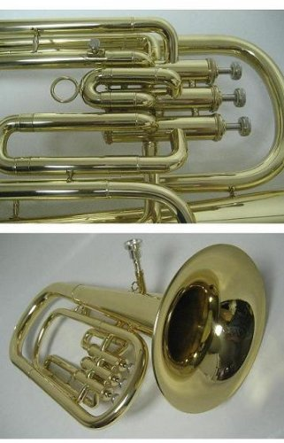 OPUS USA by Ktone High Quality Gold Bb School Baritone - Teacher Approved
