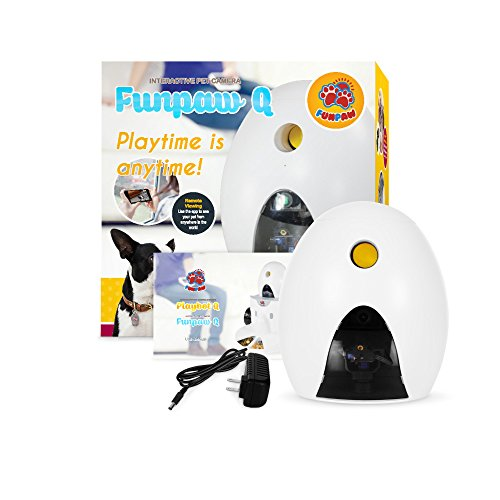 FUNPAW Q Cat & Dog Treat Dispenser w/Toy Laser: Monitor from Anywhere w/the App, 720p Hi-Res Pet Camera & 2-Way Audio by FUNPAW (Image #5)