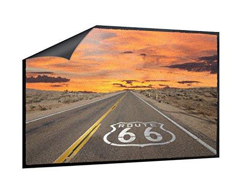 Klebefieber Fußmatte Route 66 B x H    85cm x 60cm 2e9449