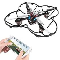 Holy Stone F180W Mini FPV Drone with 720p HD Camera and Bonus Accessories