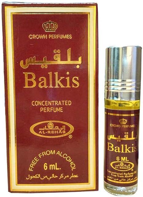 Business Square Pack de 6 Musc Perfume Al Rehab Balkis 6ml 100% Aceite: Amazon.es: Equipaje