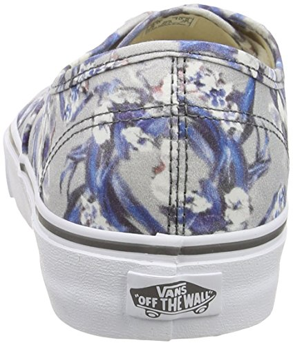 Floral Mixte Blurred Multicolore Pewter Authentic Basses Sneakers Adulte True White Vans Txq0ABwt