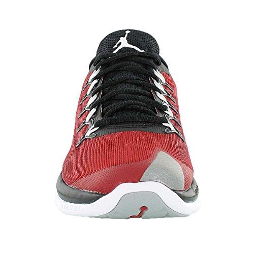 Nike Men's Jordan Flight Runner 2 Basketball Shoes Black Red 848785012 Black/Gym Red/Wolf Grey XHBkIa1PV