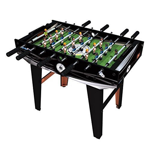 Minigols Germany Foosball Table with 11 Germany Figures and 11 Mexico Figures