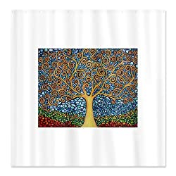 CafePress My Tree of Life Shower Curtain