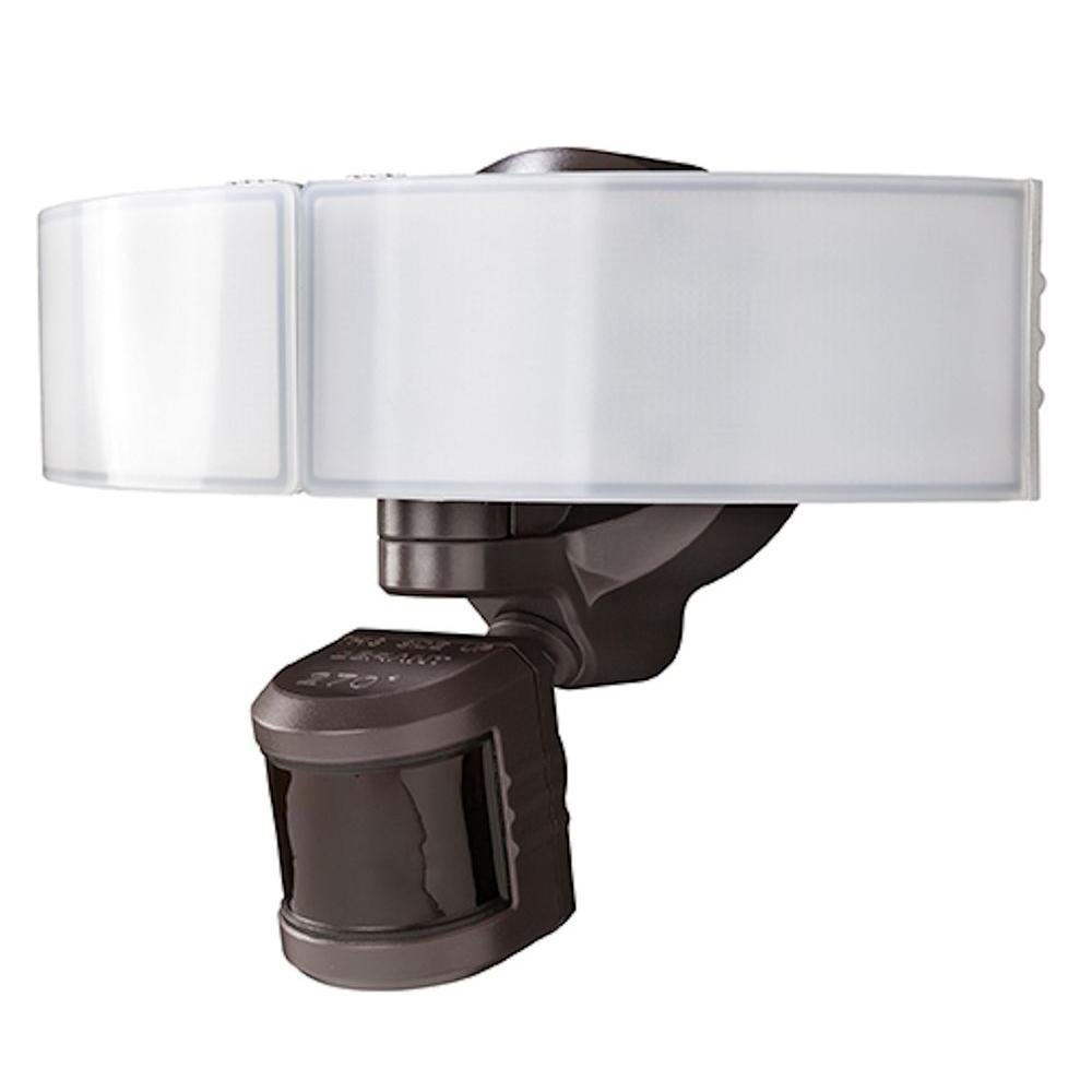 Defiant DFI-5985-BZ 270° LED Bluetooth Motion Outdoor Security Light - Bronze by Defiant