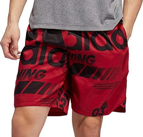 メンズ ハーフ&ショーツ adidas Men's Axis Allover Print Shorts [並行輸入品]
