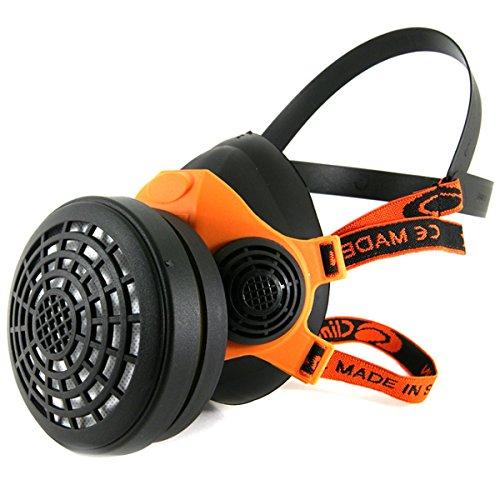Profi Atemschutz Gasmaske Lackiermaske Atemschutzmaske Halbmaske mit 1 Filter A1, B1, E1, K1