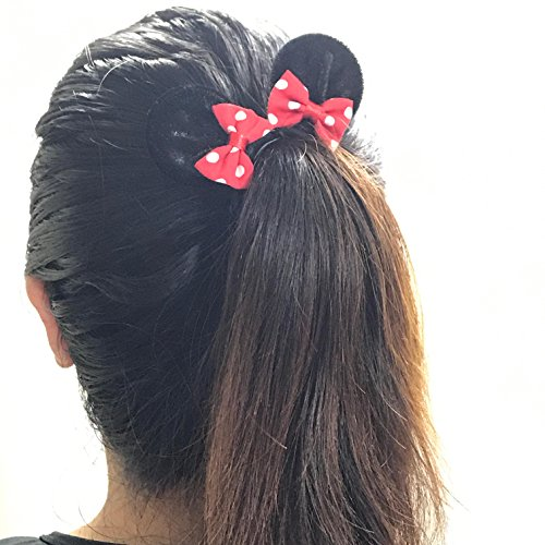 MeeTHan Mickey Mouse Minnie Mouse Ears Hair Band Headband Costume Accessory:M2 (MC - Mouse Lady Gaga Mickey