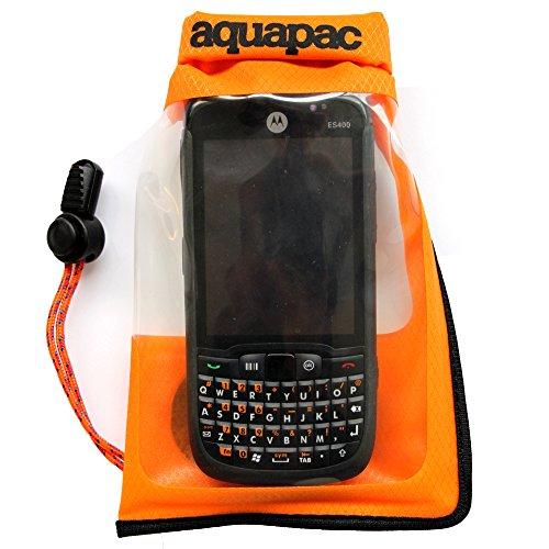 Aquapac Sacco custodia a tenuta stagna Stormproof per cellulari, taglia S, 16 cm (arancione)