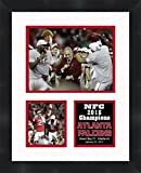 Atlanta Falcons NFC 2016 Champions Framed 11 x 14 Matted Collage Framed Photos Ready to hang