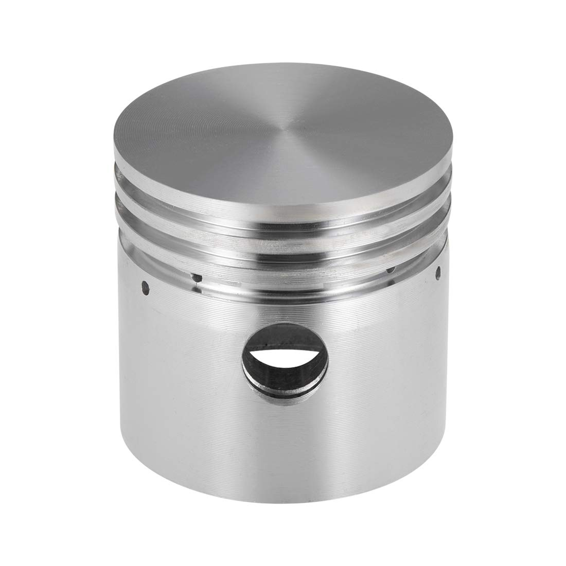 uxcell Silver Tone Aluminum Alloy Air Compressor Replacement 80mm x 63mm