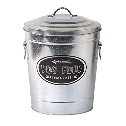 galvanized pail with lid - 6