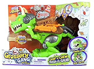 The Grossery Gang Time Wars Chomp 'n' Chew Trash-O-Saur (B07BJJTY59) | Amazon price tracker / tracking, Amazon price history charts, Amazon price watches, Amazon price drop alerts