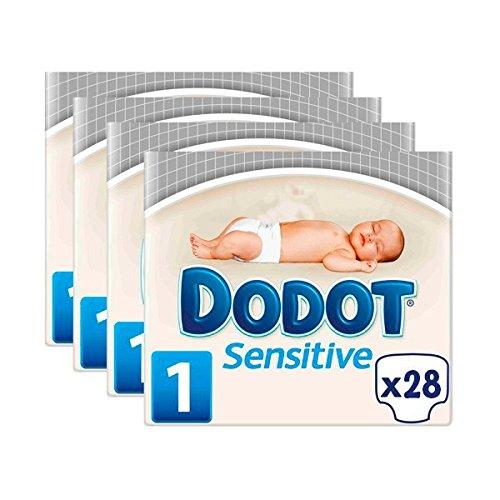 PAÑALES DODOT SENSITIVE T1 R.NACIDO CAJA 112 Unidades DE 2 a 5 KG product