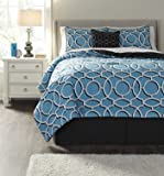 Best Signature Design by Ashley Beddings - Signature Design by Ashley Zinger Bedding Set, King Review
