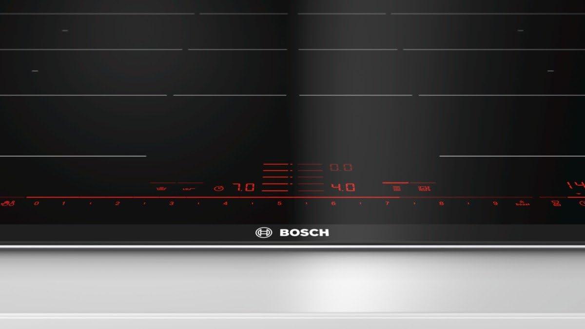 Bosch pxy875de2e Serie 8hobs eléctrico/81,6cm/Negro/Power Boost/avanzadas Flex Zona de inducción/acero inoxidable/Inducción